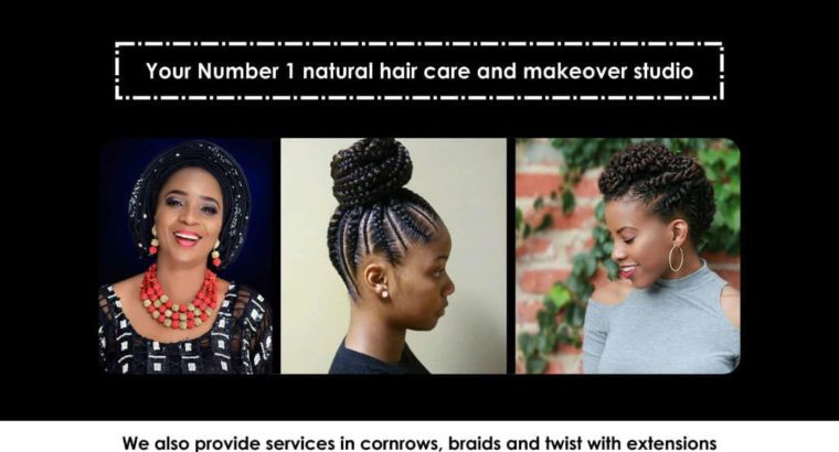 Natural Hair care and makeover Services