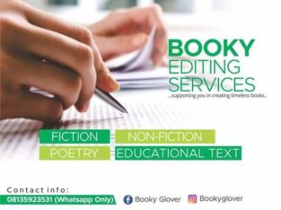 Book Editing Services
