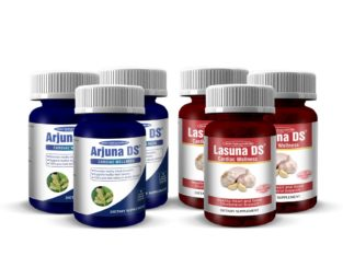 Arjunna DS and Lasuna DS CARDIAC WELLNESS