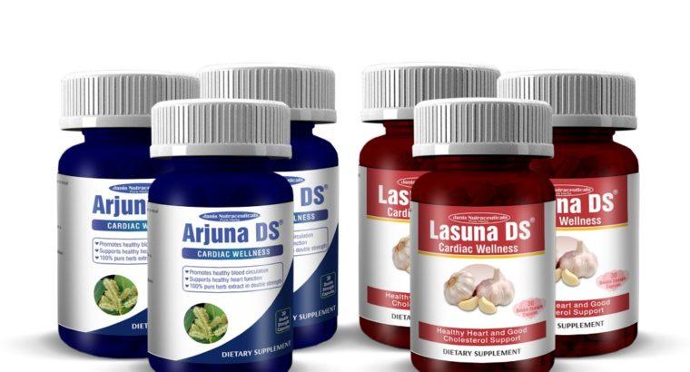Arjunna DS and Lasuna DS CARDIAC WELLNESS