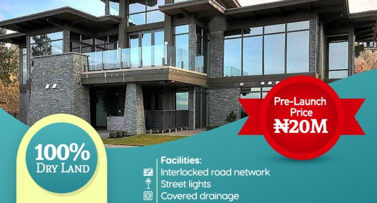 Lands For Sale at The Plush, Magodo GRA
