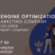 search engine optimization company and Web develop