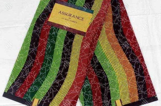 Multicolored Ankara Fabrics