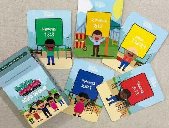 Bible Match Cards