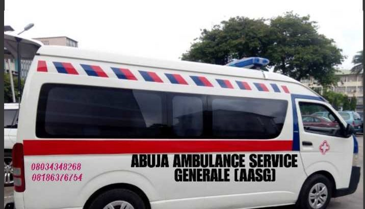 ABUJA AMBULANCE SERVICES•