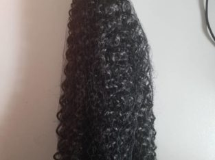 Deep curls synthetic hair 18 inches