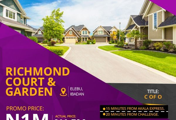 Richmond Court and Garden Elebu Ibadan