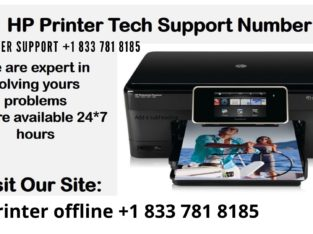 WHY HP PRINTER OFFLINE +1-833-781-8185