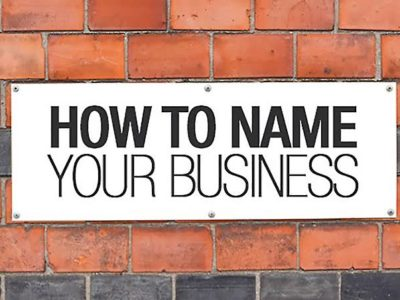 How To Pick The Right Business Name For Your Company