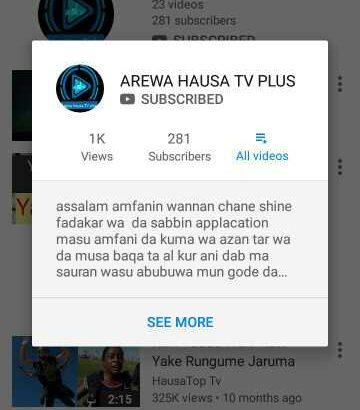 arewa hausa tv