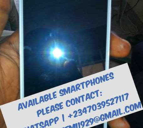 Clean used smartphones available for sale.
