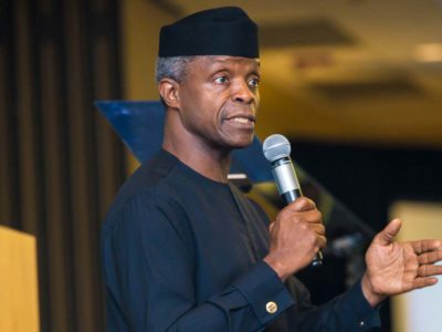 7.5 per cent increase in VAT is the lowest in Africa – Osinbajo