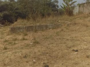 Half plot for sale in yewa area off ishawo road