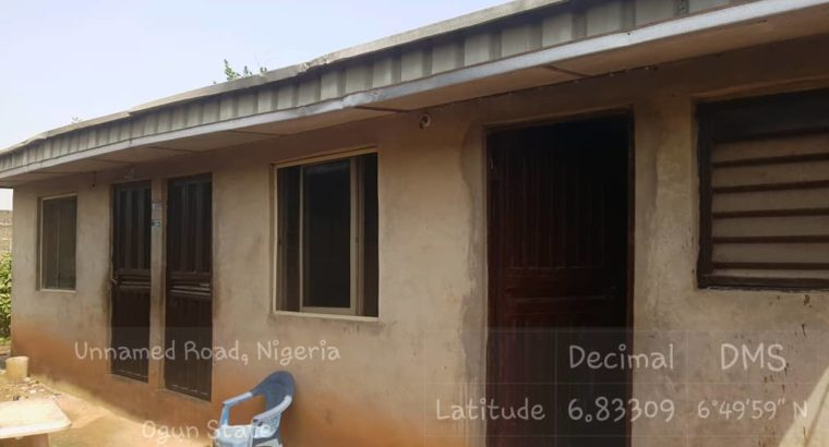 Poultry and Fish Pond Farm House for sale