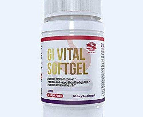 CHRONIC ULCER PERMANENT CURE GI VITAL SOFTGEL(NEW