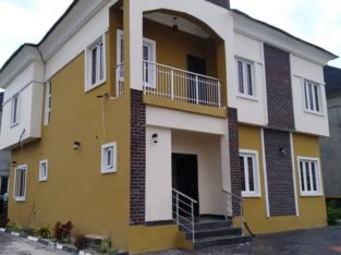 4 bedroom semi detached duplex for sale in Lekki