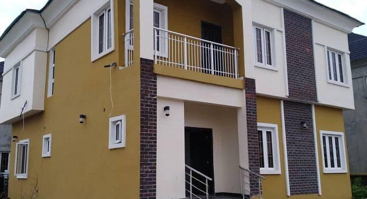 4 bedroom semi detached duplex for sale in Lekki