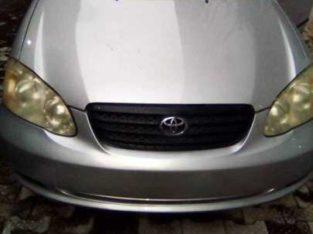 Tokunbor 2007 Toyota Corrolla