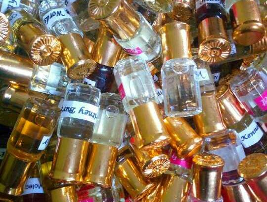 Undiluted Dubai oil perfumes