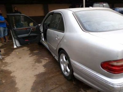 Neat Nigerian used Mercedes E230