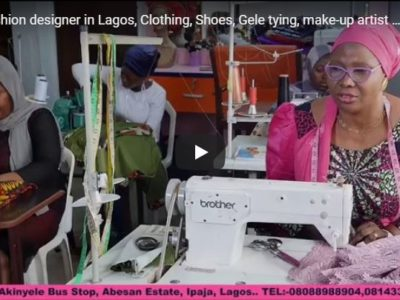Fashion designer in Lagos, Clothing, Shoes, Gele tying, make-up artist