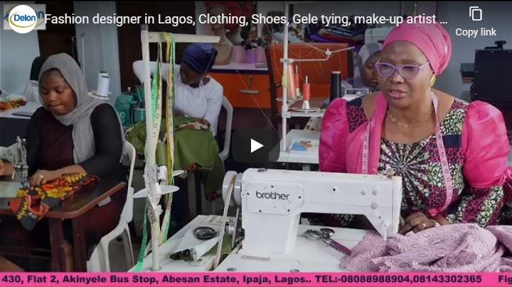 Fashion designer in Lagos, Clothing, Shoes, Gele tying, make-up artist