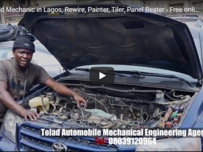 Find Mechanic in Lagos, Rewire, Painter, Tiler, Panel Beater