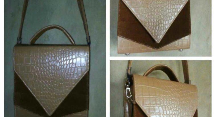 Animal Print leather box bag