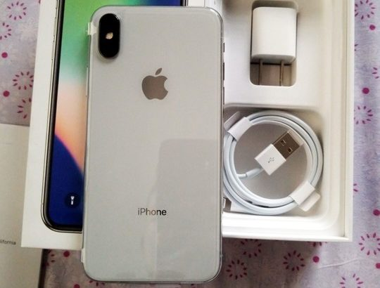 Brand New Open Box iPhone X 64gb Silver