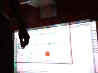 Smart interactive board installation and maintenan