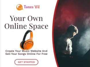 Music Website For Artists and Bloggers