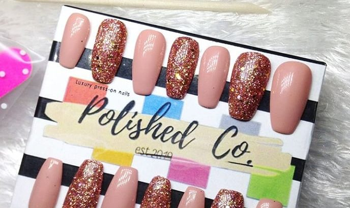 Press on nails/ Reuseable nails/ Stick on nails