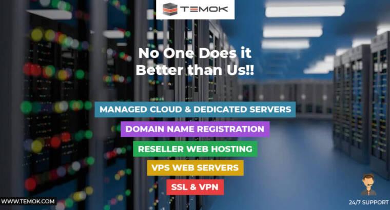 Best Web Hosting | Dedicated Server | Temok IT