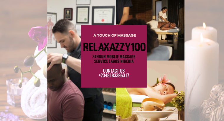MASSAGE SESSION AVAILABLE AT HOME SERVICE LAGOS NG