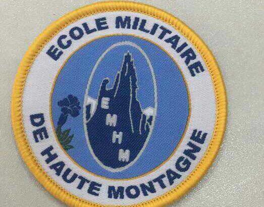Woven badge