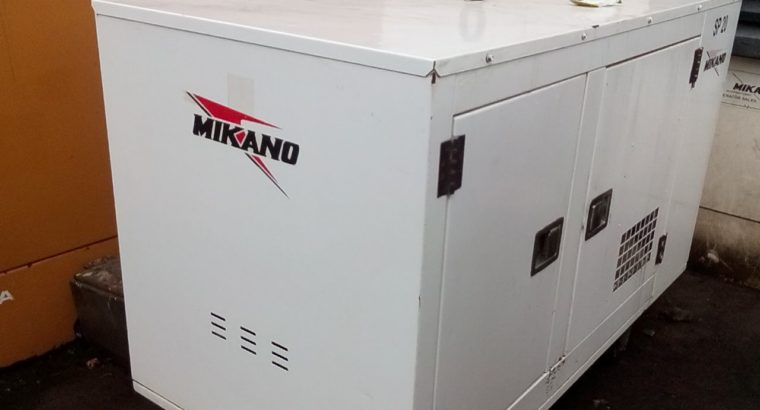 20kva Soundproof Diesel Generator
