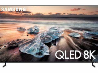 Samsung QN65Q900RBFXZA Flat 65″ QLED 8K TV