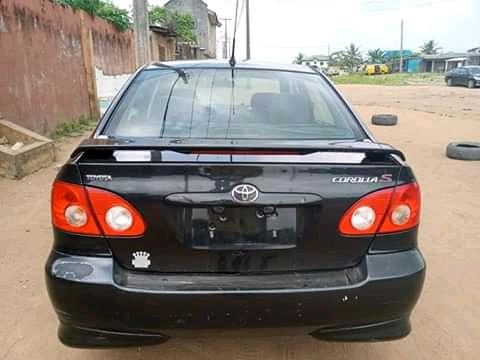 Toyota Corolla sport 2006