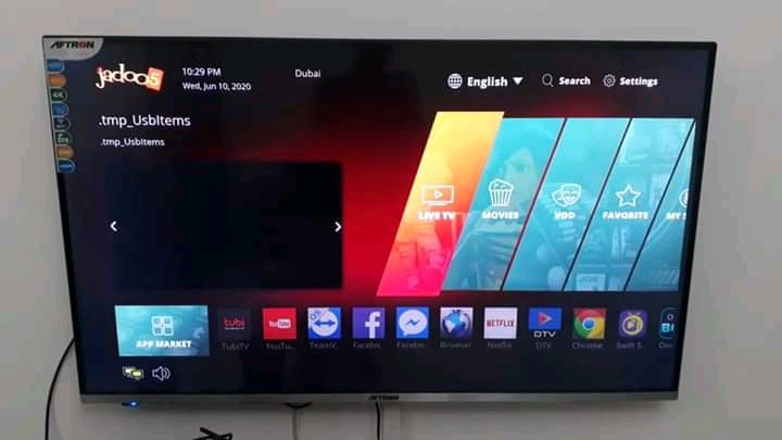Clean lg plasma television with view well maintain