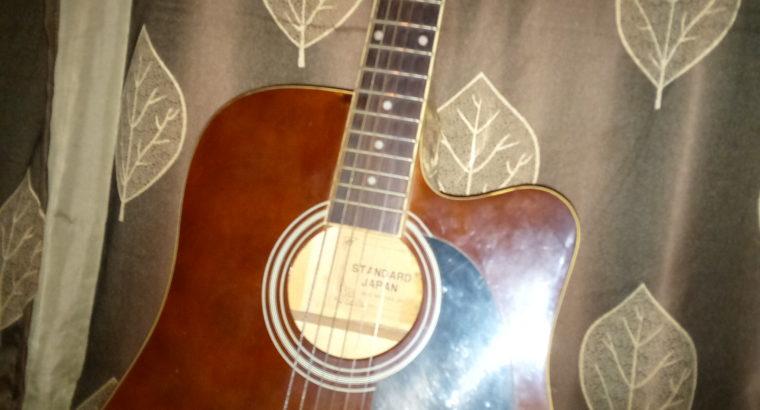 Aquistic guitar