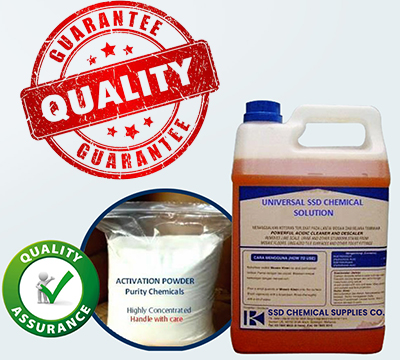 SSD CHEMICAL, ACTIVATION POWDER and MACHINE