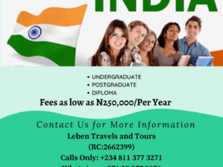 Study in India – Leben Travels and Tours