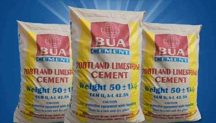 AUCTION SALES THE BEST BUA CEMENT