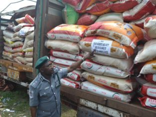 NIGERIA CUSTOM AUCTION SALES BAGS OF RICE