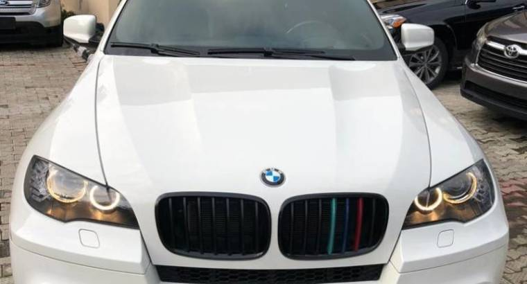 Foreign used bmw x6 2012 full option
