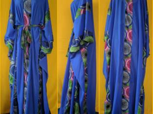 Ankara stripped Maxi Dress (Gorgeous And Comfy)