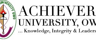Achievers University, Owo 2O2O/2O21 Session Admiss