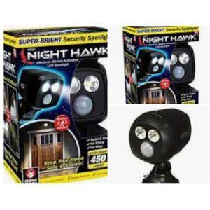 Night hawk security led light