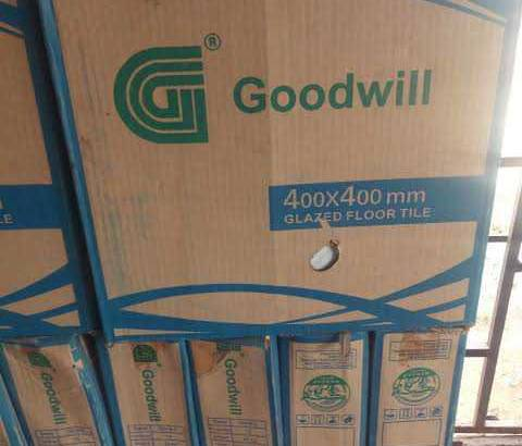 Goodwill ceramics Tiles company sales