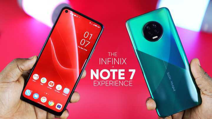 neat infinx note 7 for sale